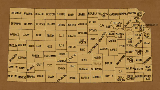 Kansas Hunting Lease Map