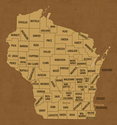 Wisconsin Hunting Lease Map